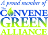 The Convene Green Alliance Button